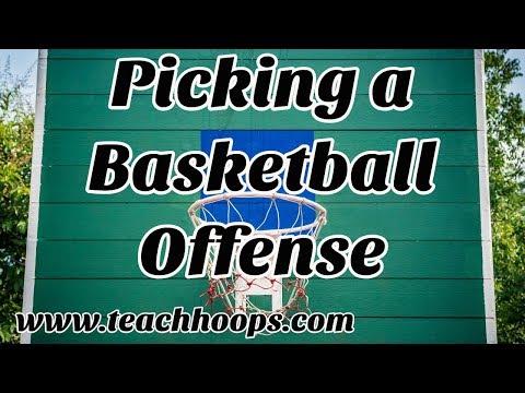 Selecting A Basketball Offense