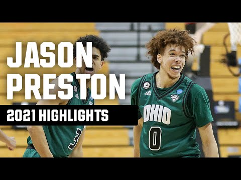 Jason Preston 2021 NCAA tournament highlights