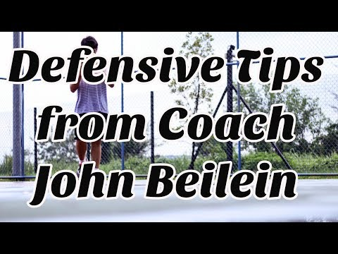 Close Out Drill – Basketball Defensive Tips from Coach John Beilein