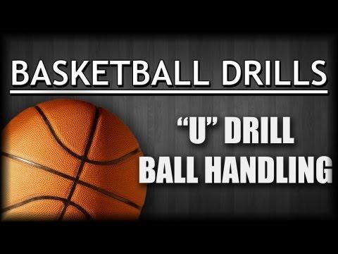 Basketball Drills: Ball Handling U Dribble Drill