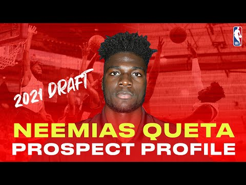 NEEMIAS QUETA PREVIEWS 2021 NBA DRAFT ✨ | Could he be Portugal's first ever NBA player?