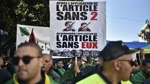 ALGERIE : Nouvelle manifestation monstre pour le sixième vendredi de contestation