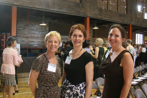 Beth Thomas, Dorothea Genetos, and Rebecca Stratton