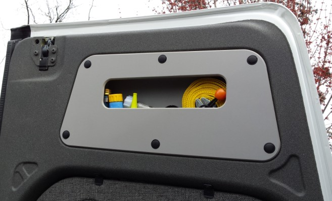 NCV3 High Roof Upper Rear Door Panels With Or Without