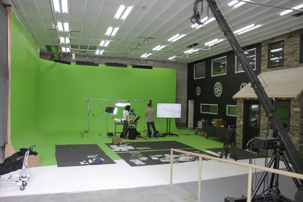 Studio Space Greenscreen