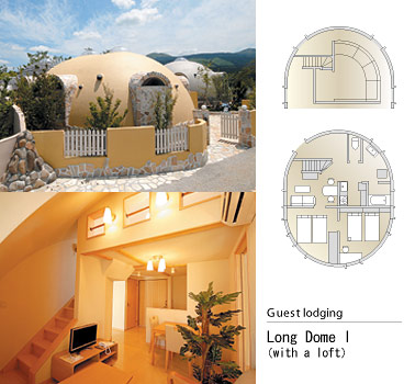 Japan's Styrofoam Dome Homes