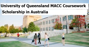 University of Queensland MACC Coursework Scholarship in Australia