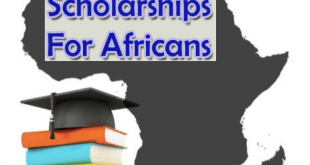Scholarship for Africans To Study Anywhere