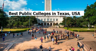 Best Public Colleges in Texas, USA
