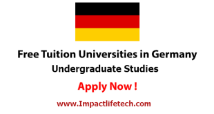 Free Tuition Education in Germany for International Students