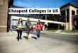 Cheapest Colleges in US