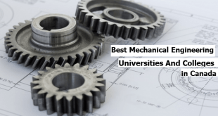 Best Mechanical Engineering Universities And Colleges in Canada