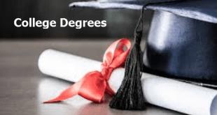 College Degrees Descending to Ascending