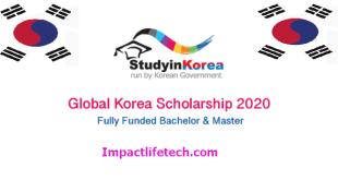 Full Global Korea Scholarships for International Students