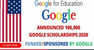 100,000 Google Scholarships Training Program