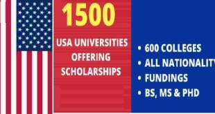 List of United States of America Scholarships 2021