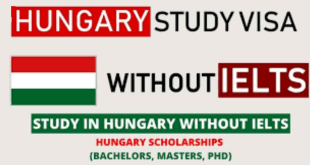 Hungarian Scholarship Without IELTS