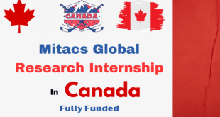 Fully Funded Mitacs International Research Internship