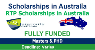 The Research Training Program Scholarships in Australia