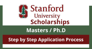 Fully Funded Stanford University Scholarship in the USA