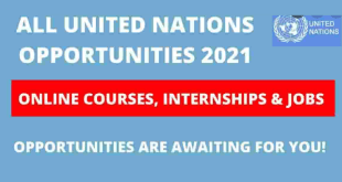 United Nations Opportunities 2022