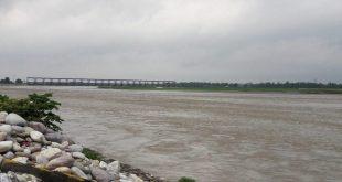 Mahakali river site at Bramhadev, Kanchanpur [image by: Bhaskar Bhattarai / USAID]