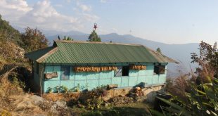A house of a farmer in Sikkim [image by: Nita Narash]