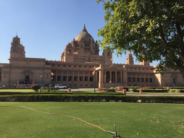 The Umaid Bhavan Palace in Jodhpur, Rajasthan.