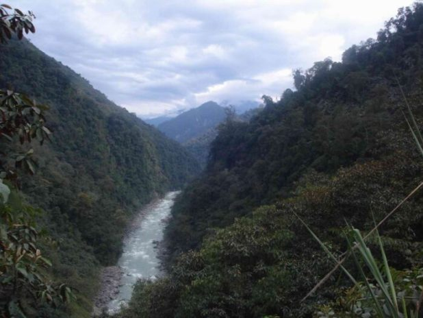 The Ithun river, a tributary of the Dibang. Photo : Raju Mimi