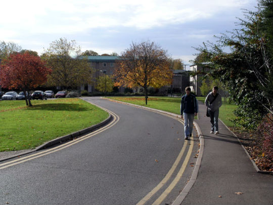 Ancaster_Hall_Drive_-_University_of_Nottingham_-_geograph