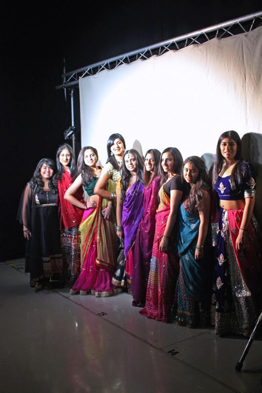 Khyati, Nikita, Riya, Radhika, Sweta, Tanvi, Shivani, Prit, Nikita