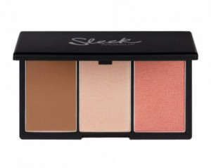 Sleek face contouring kit