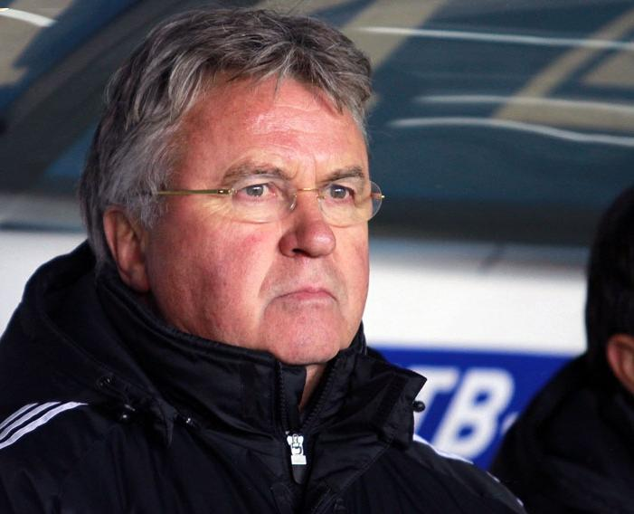Chelsea are hoping Hiddink can reach the Champion's League this season