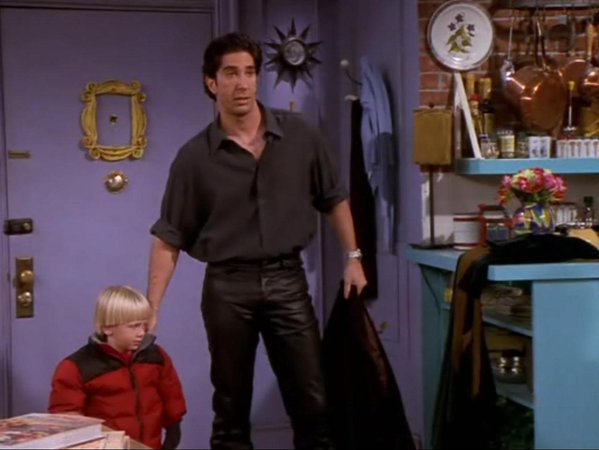 Ross - leather trousers