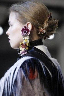 rodarte earring piece vogue