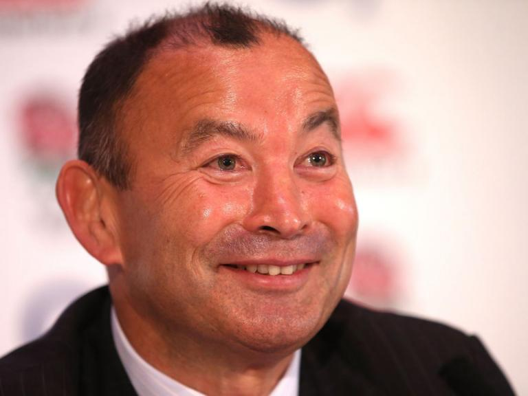 Calm yet calculating: Eddie Jones has catapulted England up to 2nd in the world rugby rankings.