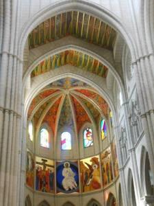 Inside of Almudena