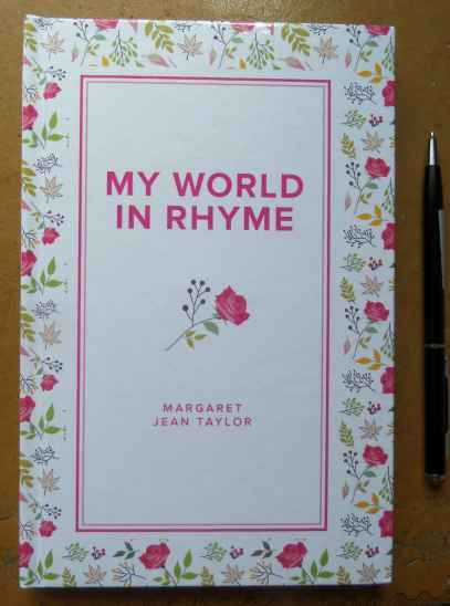 'My World in Rhyme' is available to buy now.