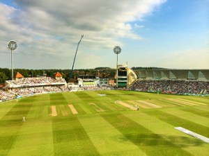 Trent Bridge in the sunshine