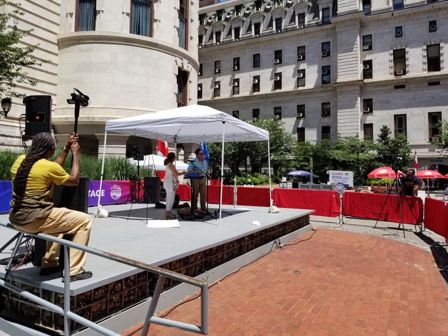 Hispanos son parte del Festival Welcome America de Filadelfia que celebra el Día de la Independencia 9