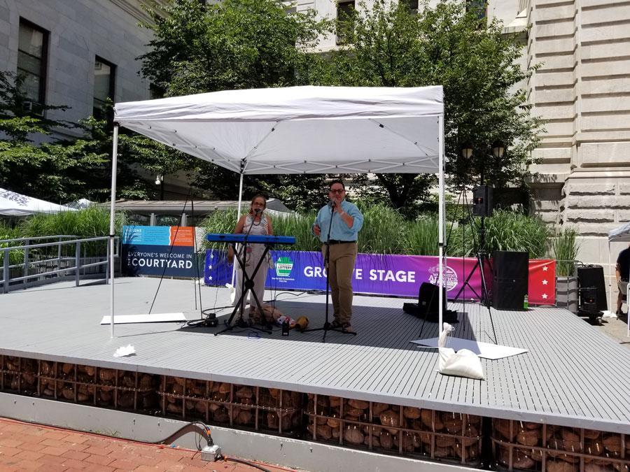 Hispanos son parte del Festival Welcome America de Filadelfia que celebra el Día de la Independencia 8