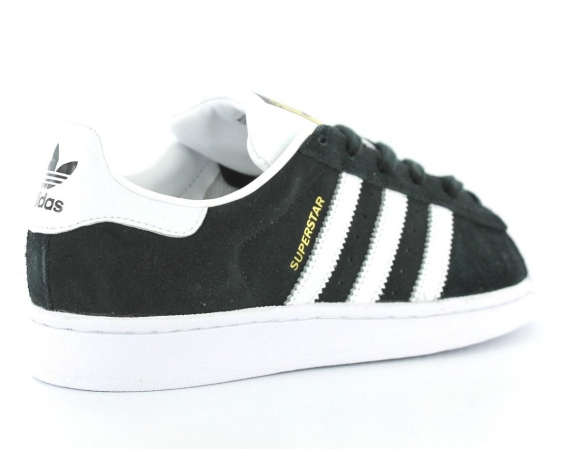 Adidas Superstar Noire Et Blanche 7