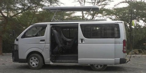 Safari van car hire