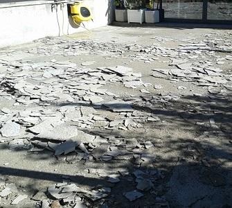 aixecar paviment maquina fresar martell pneumàtic vallès