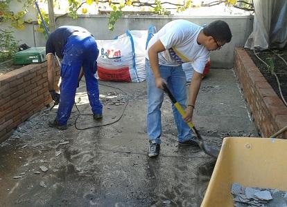 trabajos eliminación pavimento antiguo martillo neumàtico Mollet valles oriental Barcelona