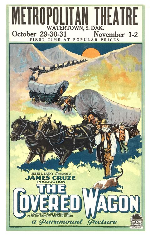 The Covered Wagon was one of the greatest films of 1923