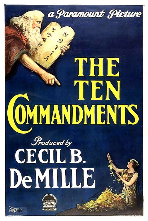 The Ten Commandments Poster - Click to View Extra Large Image