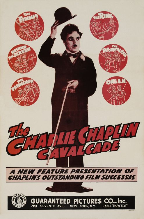 Charlie Chaplin Cavalcade Movie Poster