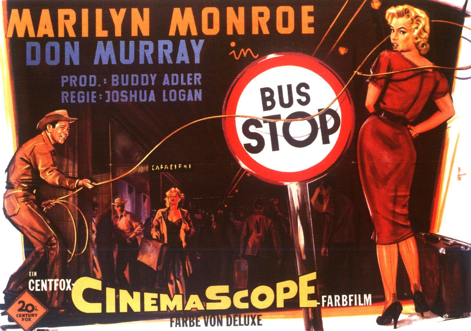 Bus Stop 3 Of 4 Extra Large Movie Poster Image
