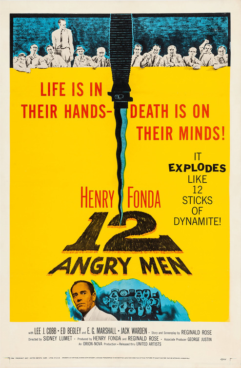 Image result for 12 angry men poster